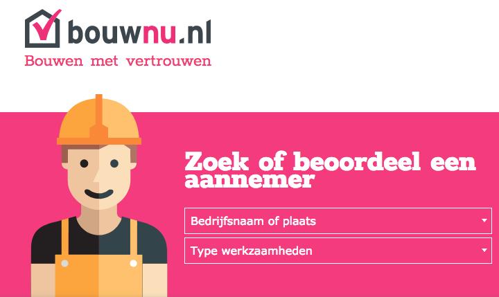 Bouwnu een objectieve website om ervaringen van anderen van bouwpartners te vinden
